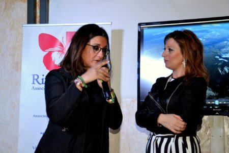 Catena Fiorello con Vita D'Amico